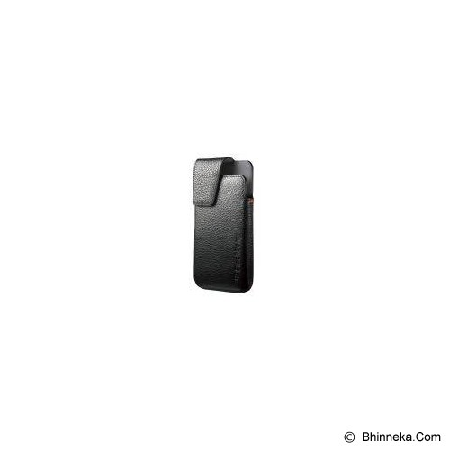 harga BLACKBERRY Leather Swivel Holster - Black [ABB-TORCH-LSHB] Bhinneka.Com